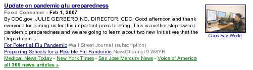google news typo
